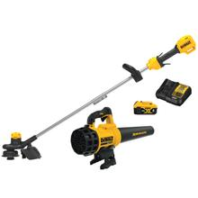 See Details - DEWALT TRIMMER AND BLOWER COMBO KIT DCST925 AND DCBL720