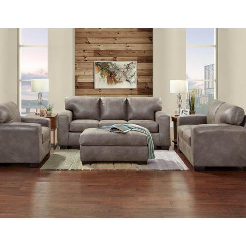 5903-TELL  Sofa, Loveseat, Chair and Ottoman - Telluride Latte