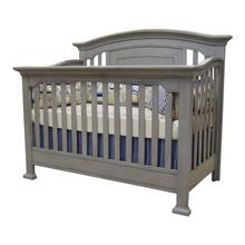 Medford Lifetime Convertible Crib in Vintage Gray