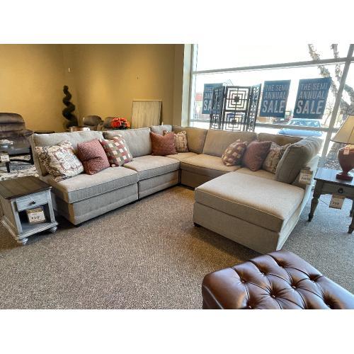 Evermore Oak Modular Sectional