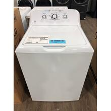GE® 4.2 cu. ft. Capacity Washer with Stainless Steel Basket **OPEN BOX ITEM** West Des Moines Location