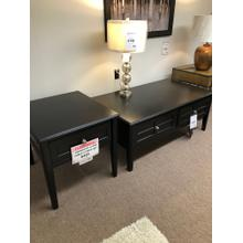 See Details - Ashley 2 pc table set- Cocktail Table and End Table Model T479