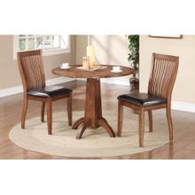See Details - Broadway Drop-Leaf Table & 2 Chairs Dining Set
