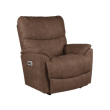 See Details - Trouper Power Rocking Recliner w/ Head Rest & Lumbar