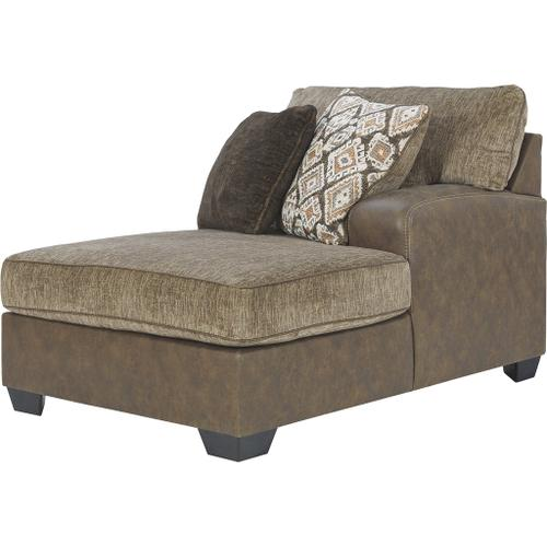 Benchcraft - Abalone 3-piece Sectional With Chaise