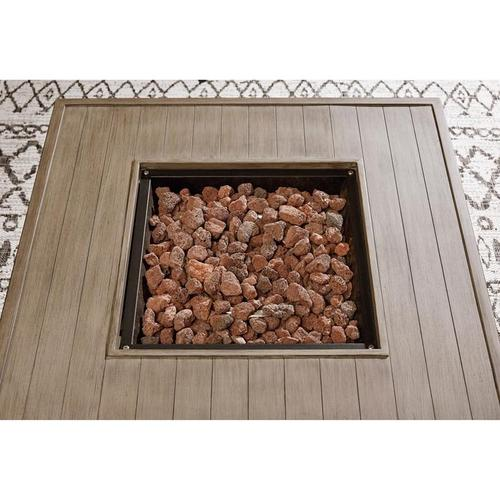ASHLEY P016-772 Lyle Outdoor Patio Fire Pit Table