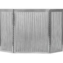 3 Fold Linear Screen Satin Nickel