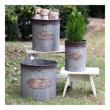 See Details - Garden Canisters