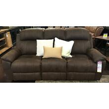 Dark Brown Dual Power Sofa