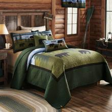 Bear River King Quilt Set