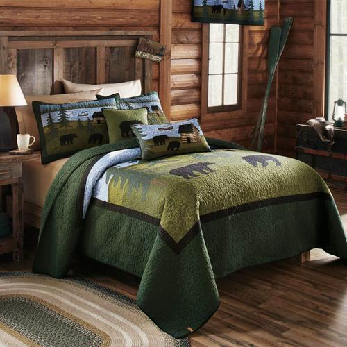 Bear River King Quilt Set