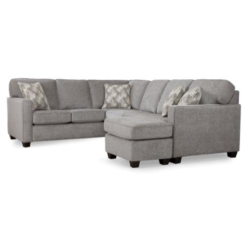 Casual Contemporary Sectional