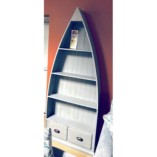 New Haven Slim Boat Bookcase     (G4000,72971)