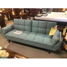 Turquoise Fold Down Sofa Bed