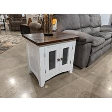 Barn Door End Table