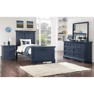 Tamarack Blue 7-Drawer Youth Dresser