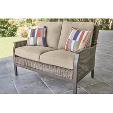 Agio International Trenton Woven Deep Seating LoveSeat