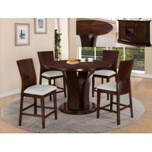 Daria 5pc Counter Height Dining Set