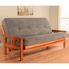 Kodiak Furniture Monterey Futon in Marmont Thunder