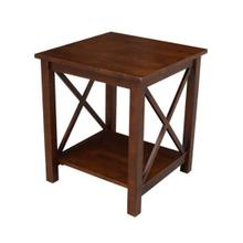 Hampton End Table - Espresso