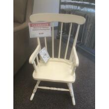 See Details - Children's Rocking Chair - Bleached White finish- In Stock only Model# CR-2465B