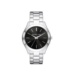 Michael Kors - MICHAEL KORS Slim Runway Quartz Black Dial Watch