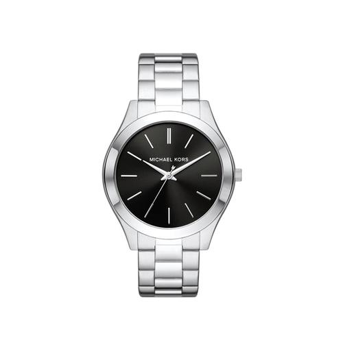 MICHAEL KORS Slim Runway Quartz Black Dial Watch