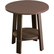 Deluxe End Table Chestnut Brown