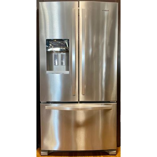 Whirlpool WRF555SDFZ   36-inch Wide French Door Refrigerator - 25 cu. ft.