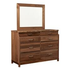 View Product - Westmere Live Edge Dresser With Mirror