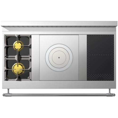 Chateau 120 (E4) - 2-Gas Burners - 1-French Plaque - 2-Induction Burners