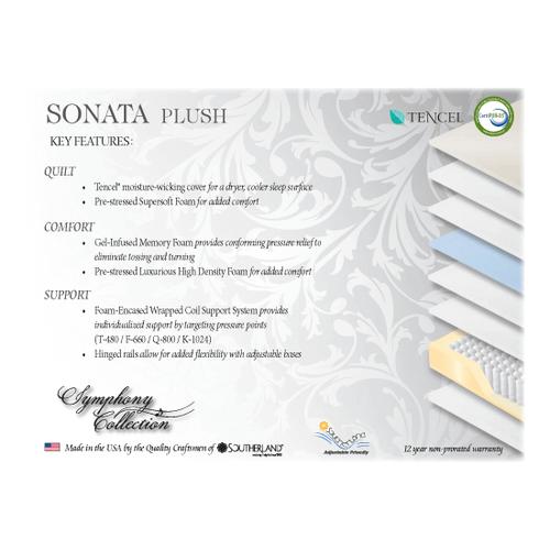 Symphony Collection Sonata Plush