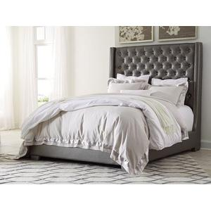 Queen Size Upholstered Bed