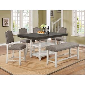 Crown Mark 2765 Clover Counter Height Dining Group