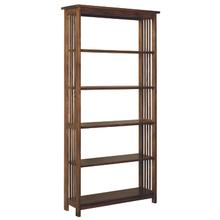 6' Tall Mission Bookcase