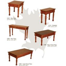 Farmhouse Red Oak Table Collection