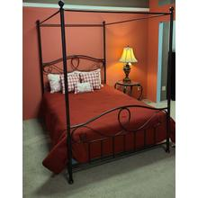 Sylvania Queen Canopy Bed Finish: French Roast