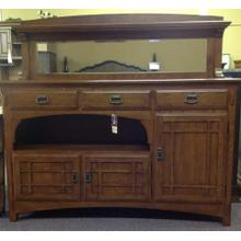 See Details - Buffet and mirror