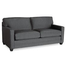 Alex Track Arm Sofa - Charcoal