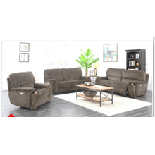 CARLIE 6-WAY POWER SOFA, LOVESEAT, & RECLINER