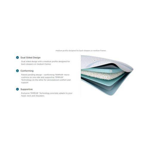 TEMPUR-Adapt Pro + Cooling Pillow - Mid