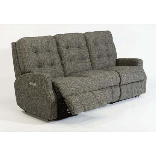 Flexsteel - Devon Fabric Reclining Sofa without Nailhead Trim
