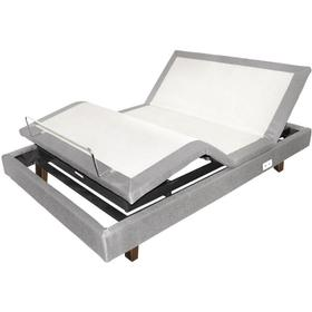"""Motion perfet Queen Bed With 10"""" Memory Foam Mattress"""