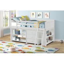 View Product - LIFESTYLE CB814W-JX7 CB814W-JQX CB814W-JXS CB814W-JXC Abigail Twin Loft Bed with Storage