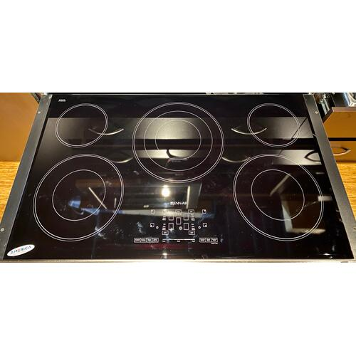 JennAir JEC4536BB   36-Inch Electric Radiant Cooktop with Glass-Touch Electronic Controls