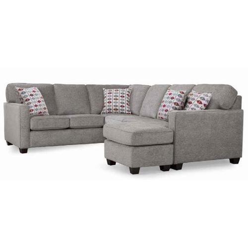 2541 RHF Sofa with Chaise/LHF Corner Sofa Sectional/LHF Sofa with Chaise/RHF Corner Sofa Sectional Groupset