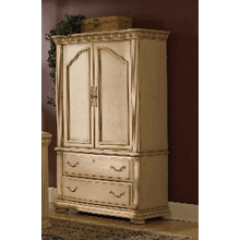 Antiguo Blanco Armoire