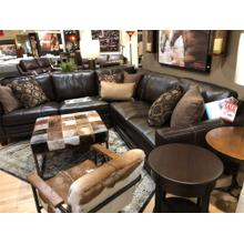 Port Townsend Leather Sectional In Stock! Was $4295 Now--$3995 One only!