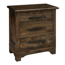See Details - Farmhouse 2 Drawer Nightstand