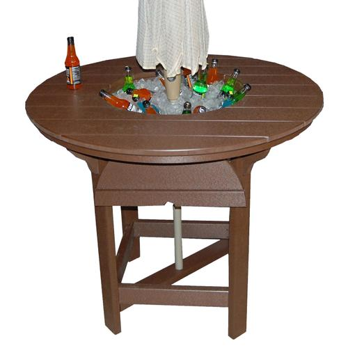 """48"""" Round Dining Table With Bowl"""